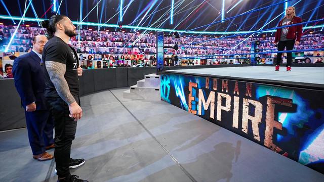 Roman Reigns pide a Edge luchar en Wrestlemania 37 SmackDown 5 Febrero