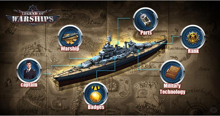Come And Witness The Conquest Of The Seven Seas: Legend Of Warships