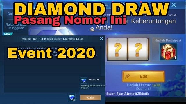 Nomor Keberuntungan Diamond Draw ML 2020 Terbaru Gratis!