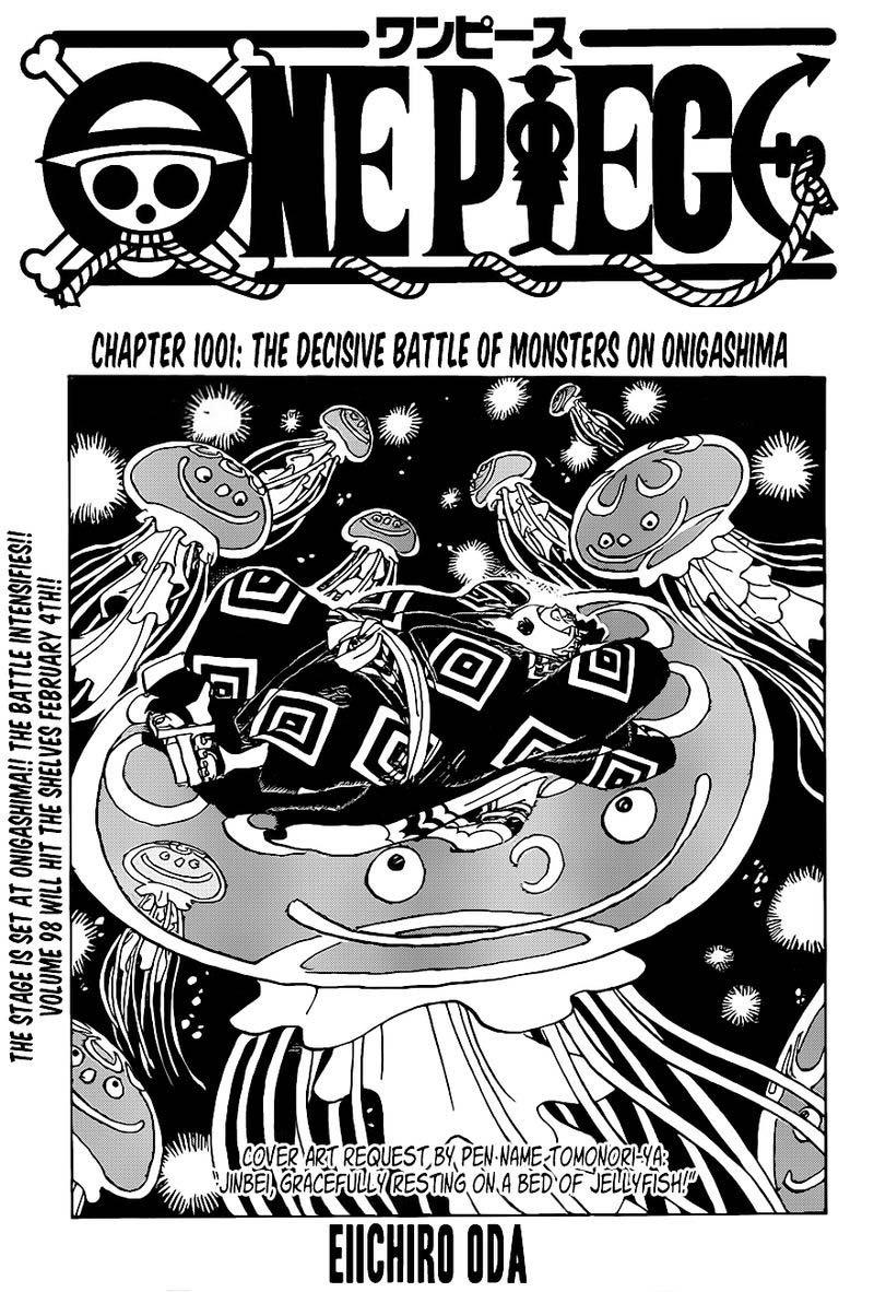 one piece manga chapter 1001 - 001