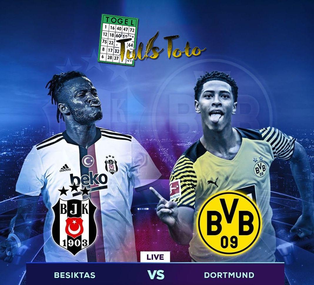 Borussia Dortmund Curi Kemenangan dari Markas Besiktas