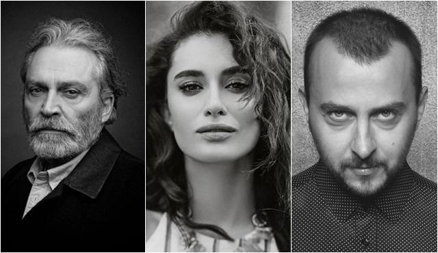 Ali Atay, Haluk Bilginer, Hande Doğandemir Nuh Tepesi filmi