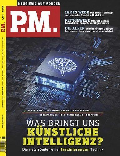 Cover: P M  Neugierig auf Morgen Wissensmagazin No 11 November 2021