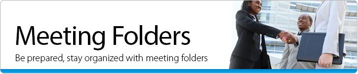 Meeting Folders