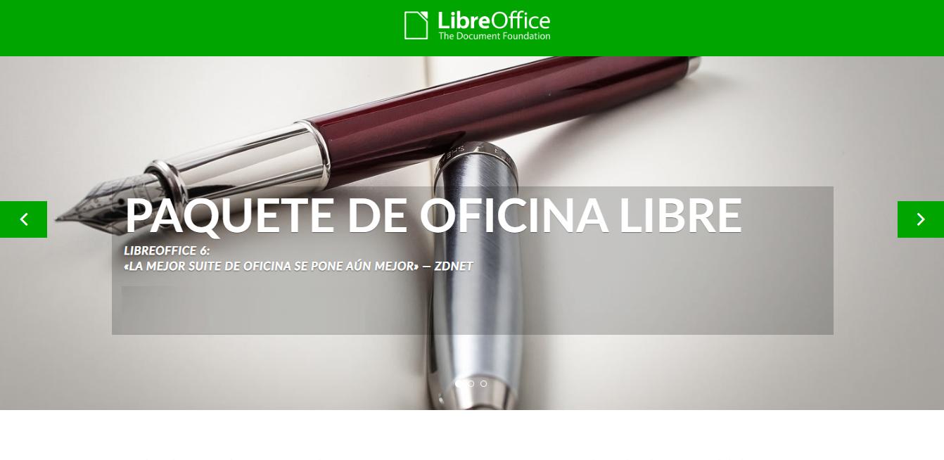 Otro de los programas similares a Microsoft Office es LibreOffice