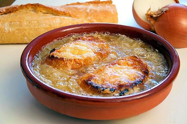 Мексиканский луковый суп