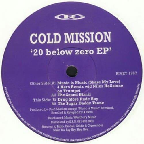 Download Cold Mission - 20 Below Zero EP mp3