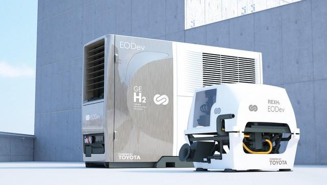 Toyota Motor Europe investit dans la start-up EODev pour promouvoir les solutions hydrogène Eodev-rexgeh2combi1-2