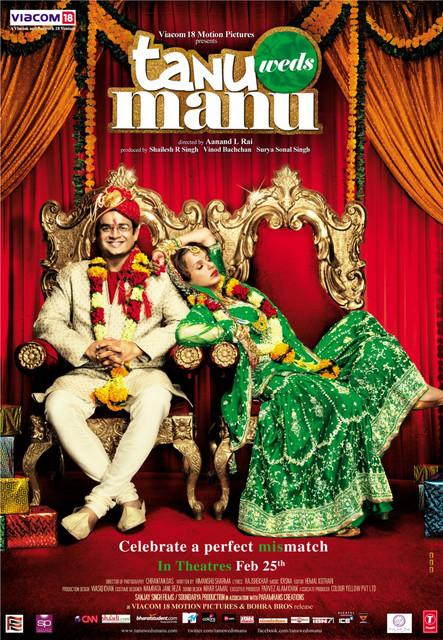 Tanu Weds Manu Returns 2015 Hindi 480p BluRay ESubs 400 MB