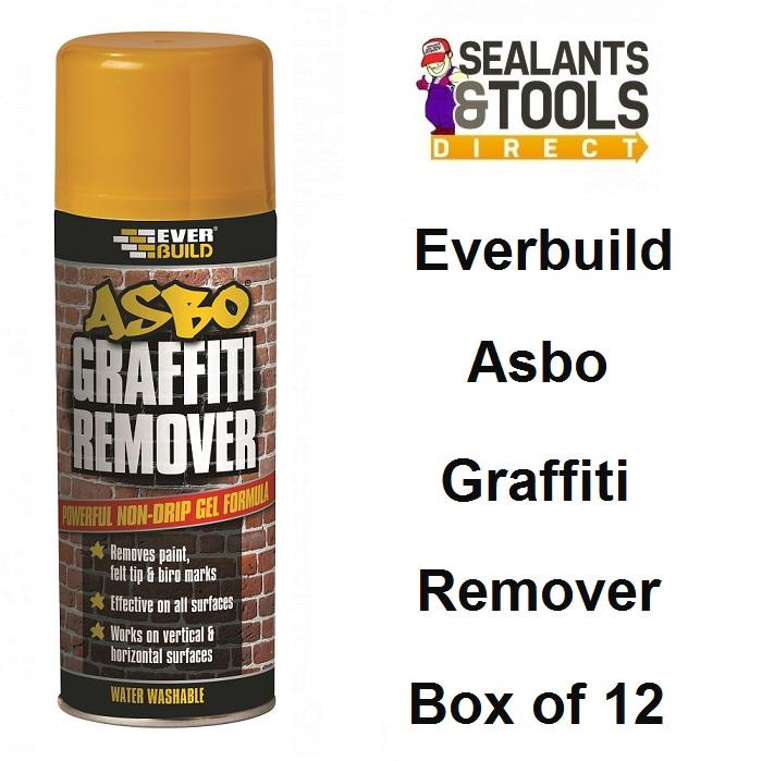 Everbuild Graffiti Remover 400ml GRAFF Box of 12