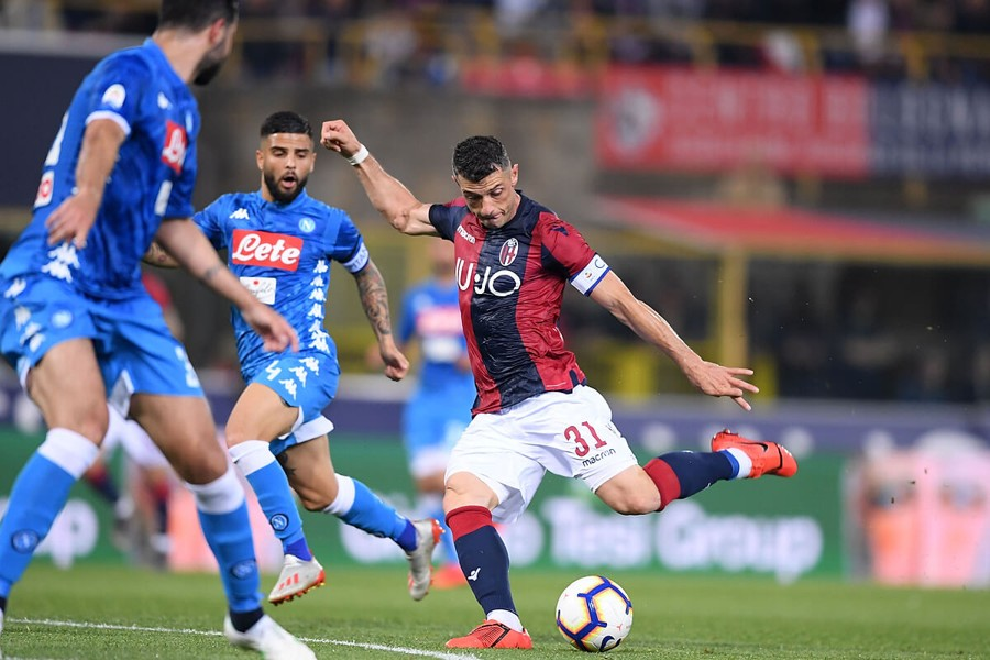 NAPOLI BOLOGNA Streaming TV Gratis, dove vedere Web Video: DAZN o Sky Live?