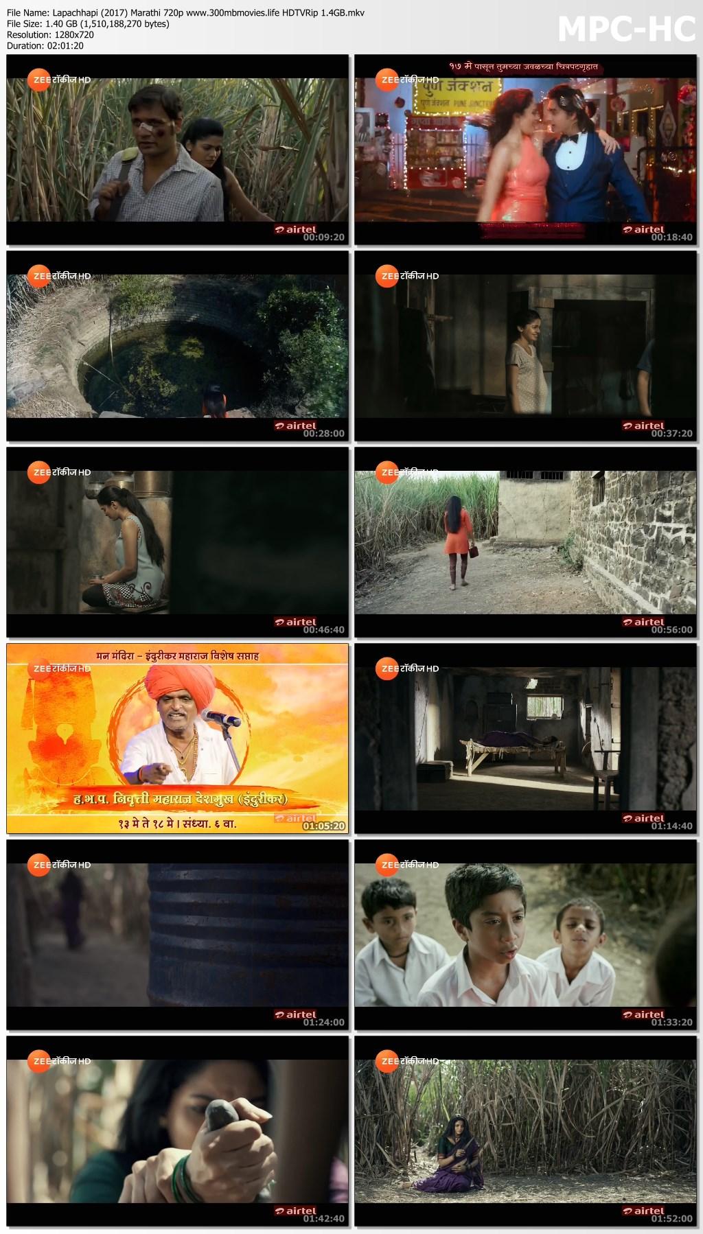 Lapachhapi (2017) Marathi Movie 720p HDTVRip 1 5GB Download