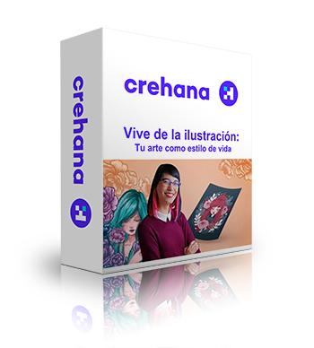 Vive de la ilustración - Crehana