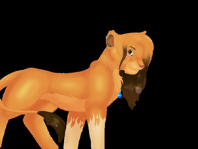 Naia, mi leona para rol Naia