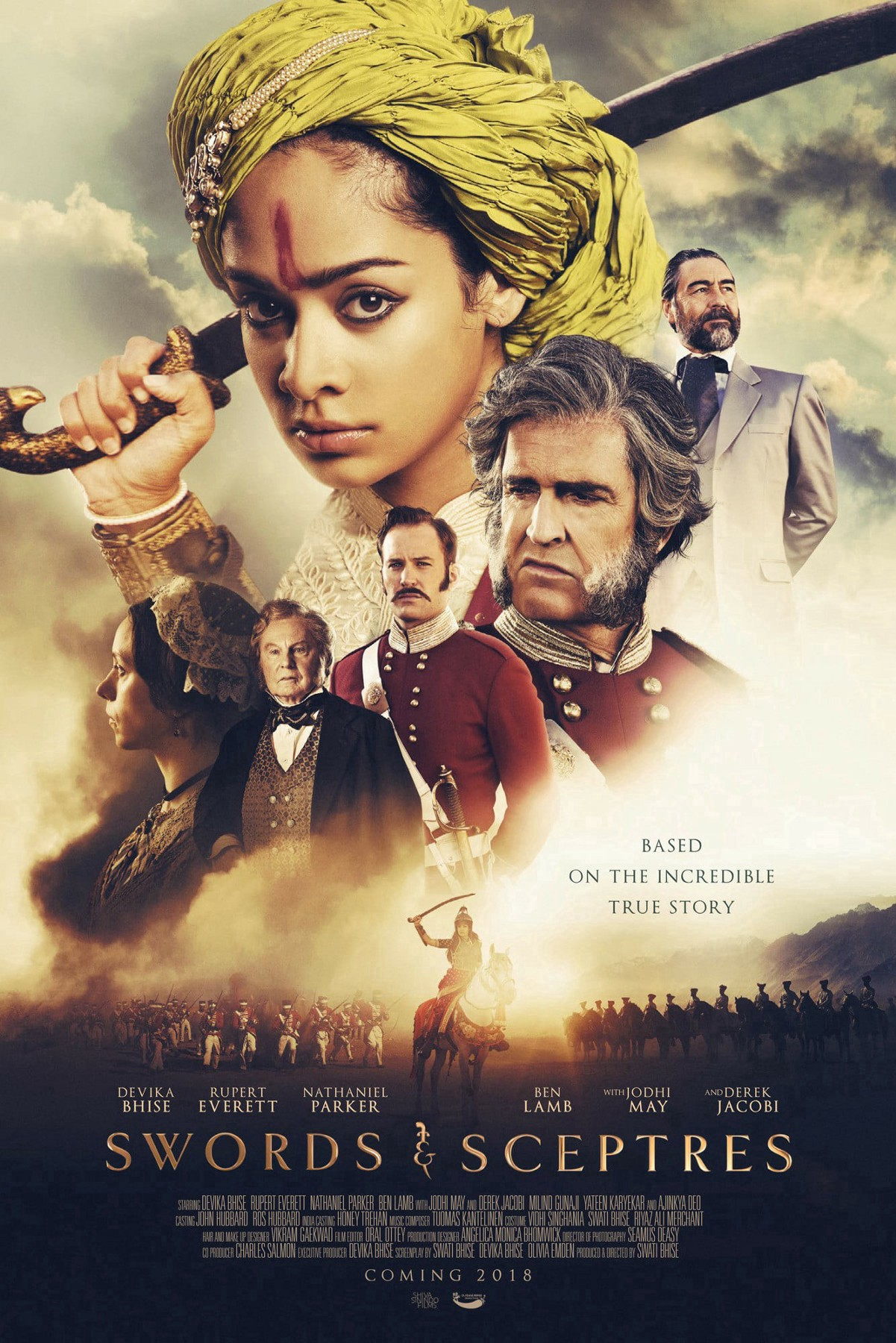 The Warrior Queen of Jhansi 2019 English 350MB HDRip ESubs Download