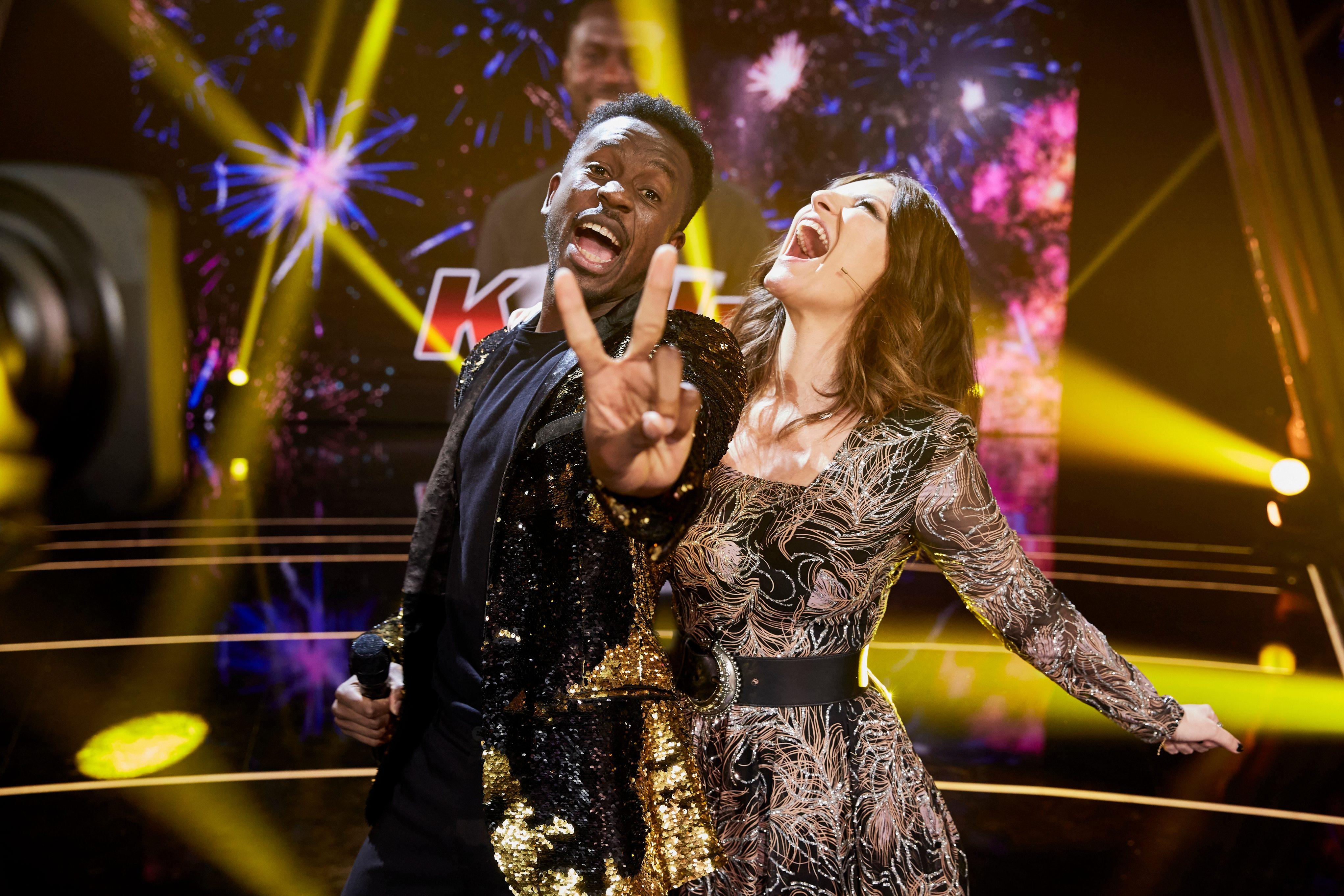 """Laura Pausini vince """"La Voz España"""" con Kelly Isaiah"""