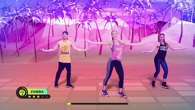 在186國、超過1500萬人為之風靡的全球性健身課程, 將以Nintendo Switch™專用遊戲之姿登場! 『Zumba ®Burn It Up!』決定於2020年6月18日(四)發售!  02