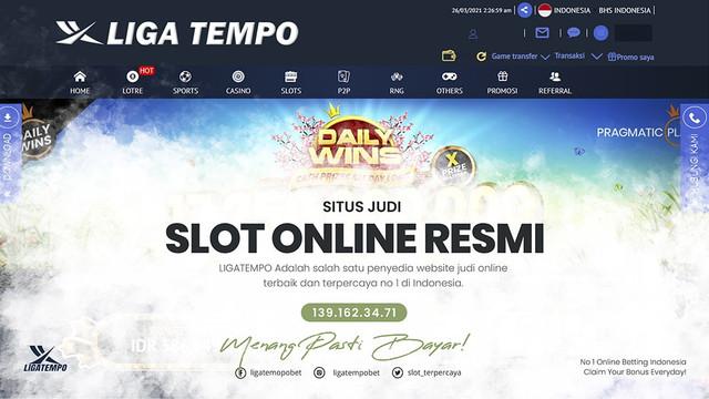 Situs Judi Online Resmi Terpercaya 2021 LIGATEMPO