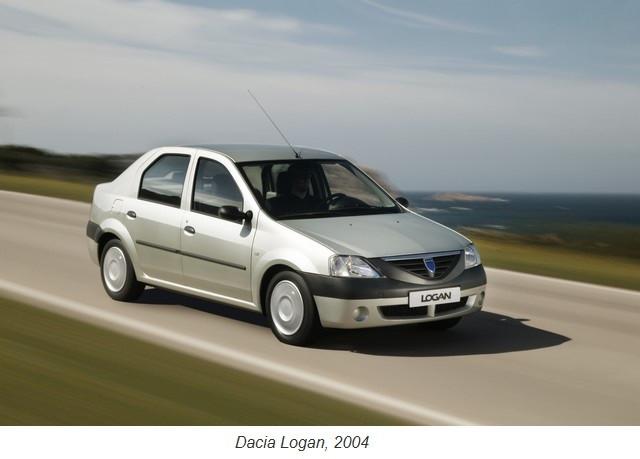 Dacia, la petite marque qui voit grand 2004-Dacia-LOGAN