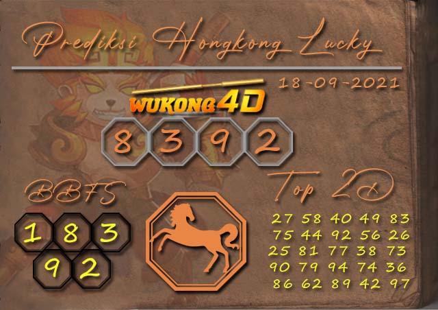 PREDIKSI TOGEL HONGKONG LUCKY7 WUKONG4D 18 SEPTEMBER 2021