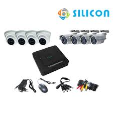 CAMERA CCTV SILICON 8 Channel