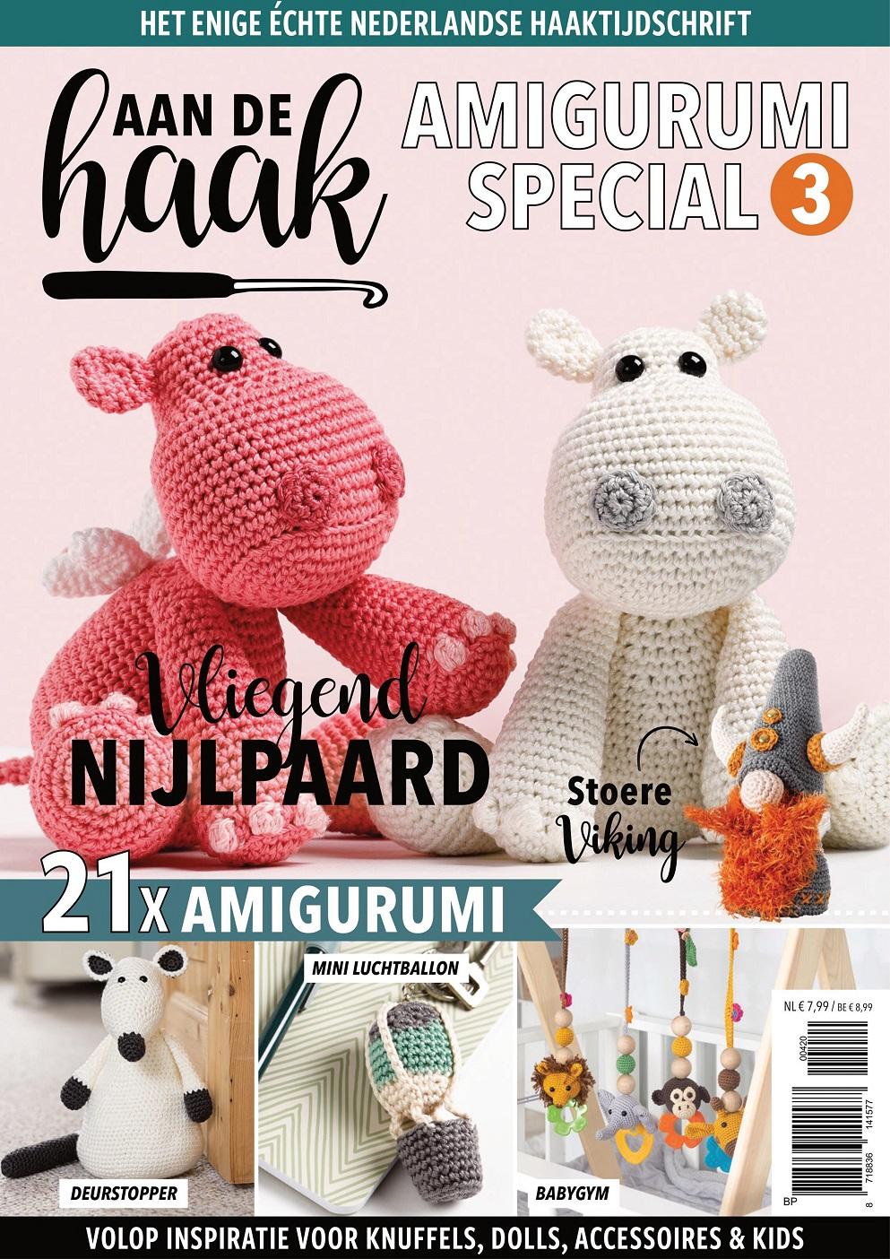 Бельгийский журнал по вязанию крючком Aan de Haak — December 2020