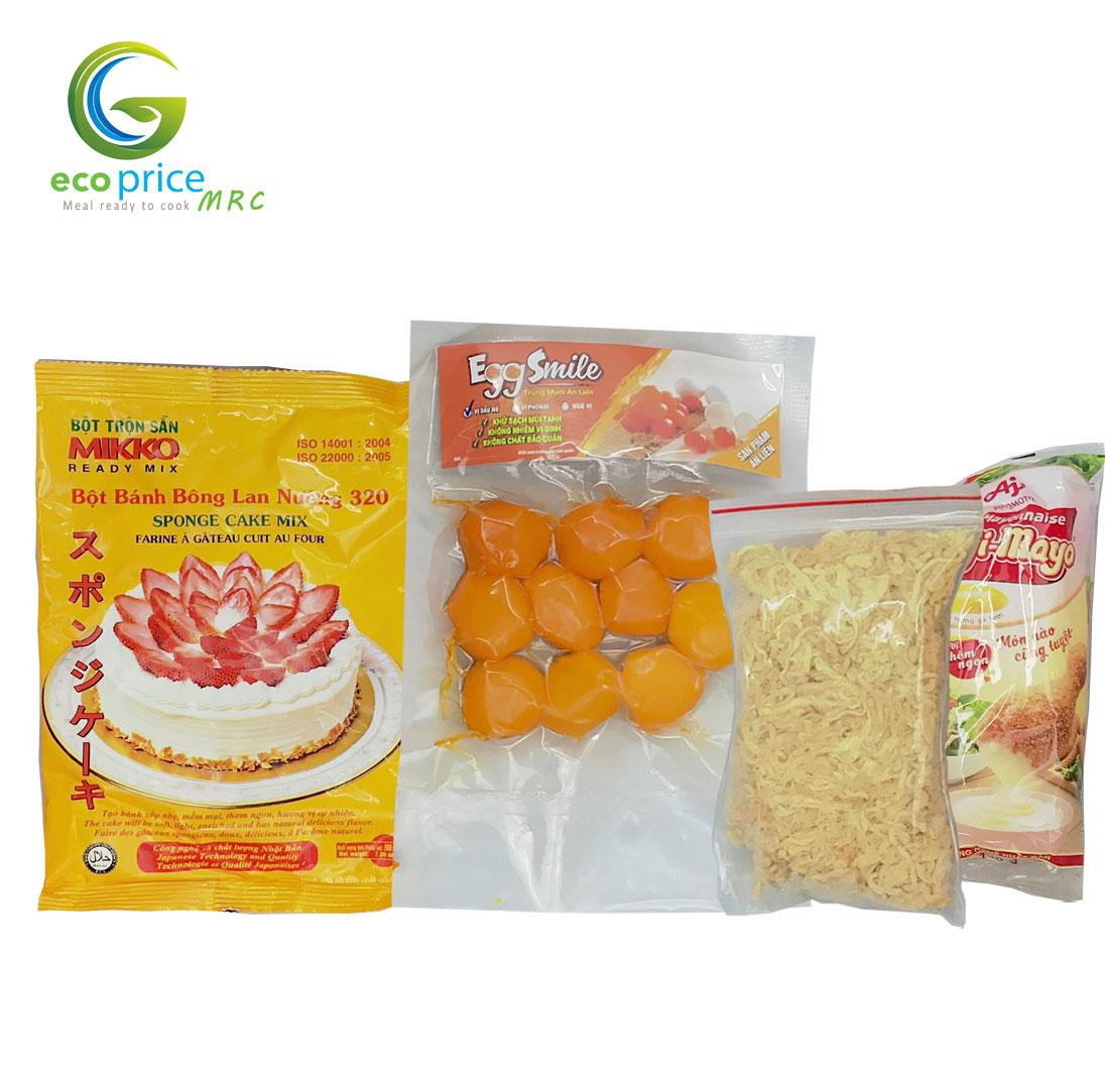 Combo Bông Lan Trứng Muối Chà Bông- 4 món- Ami