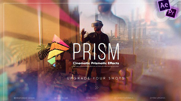 Prism — Cinematic Prismatic Effects V2.0 27568538 - Project for After Effects (Videohive)