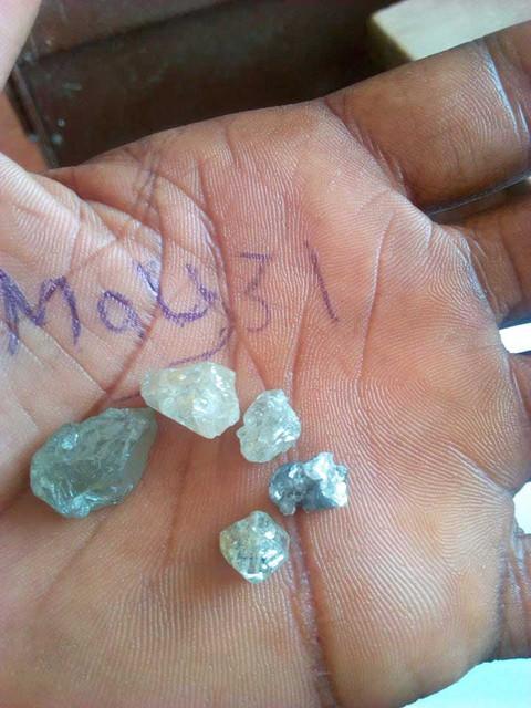 Добыча алмазов в Сьерра Леоне