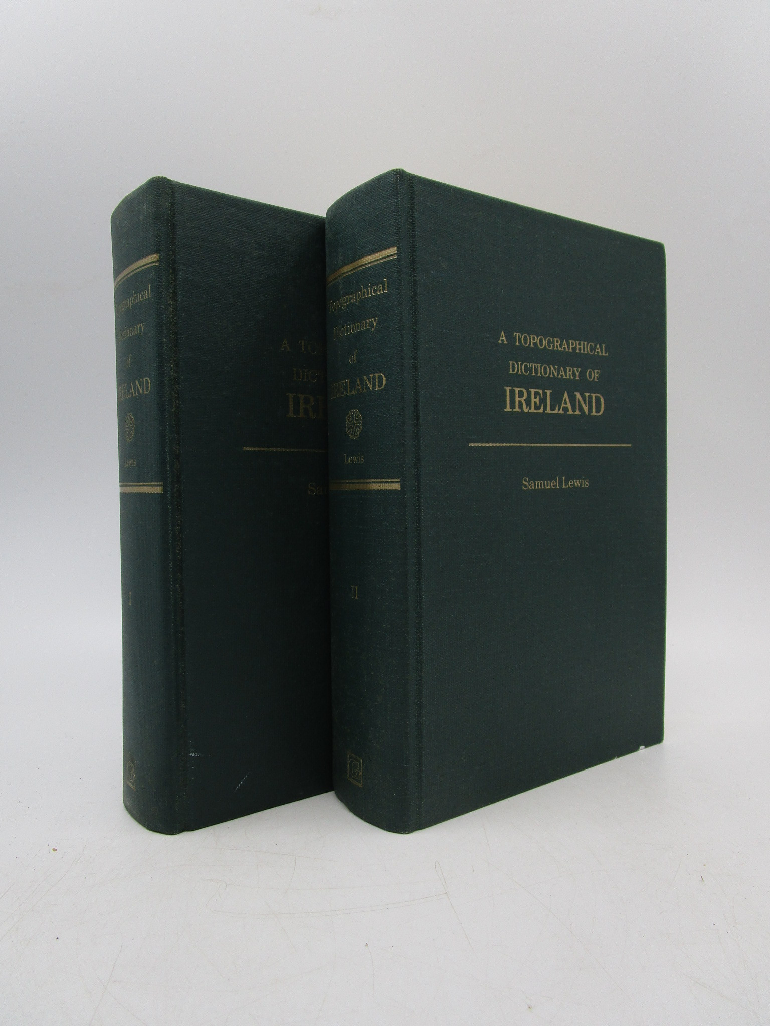 Image for A Topographical Dictionary of Ireland (2 volumes)