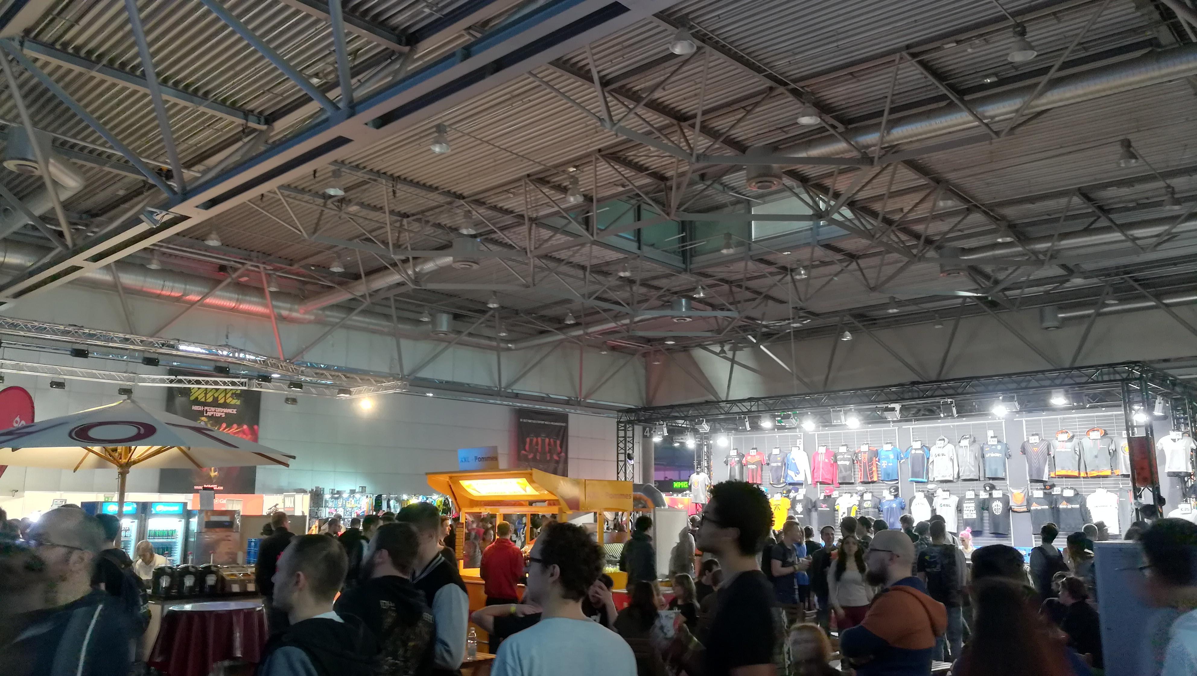 Expo-Bereich