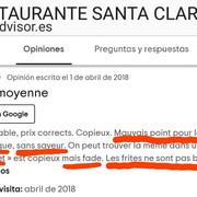Opinion-Avis-Hostal-Santa-Clara-Estartit