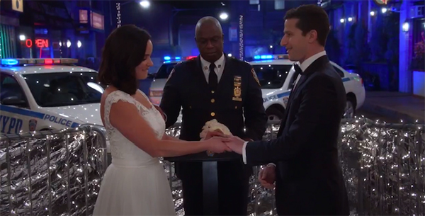 Brooklyn 99 wedding