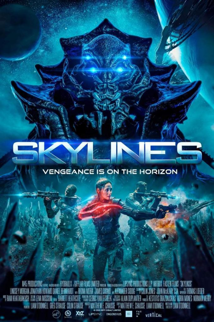 Skylines (2021) Bengali Dubbed 720p WEBRip 700MB Download