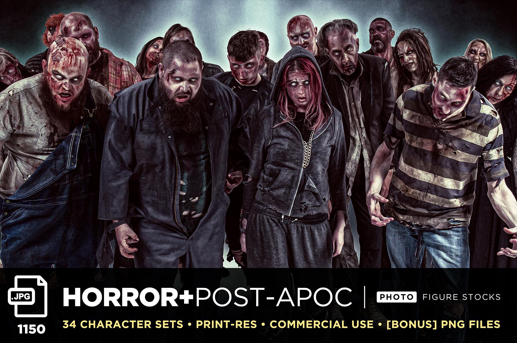 Horror Post Apoc Sales GFX
