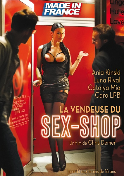 Продавец секс-шопа / La vendeuse du sex shop (2018) WEB-DL