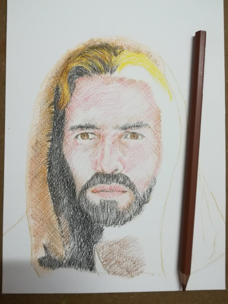 portrait of jesus