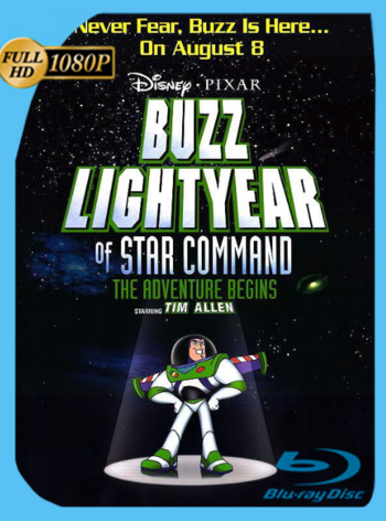 Buzz Lightyear: Comando Estelar (2000) VHSRip [1080p] Latino [GoogleDrive] [zgnrips]
