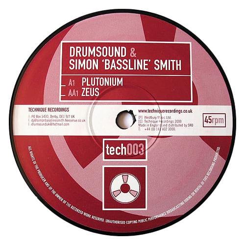 Download Drumsound & Simon 'Bassline' Smith - Plutonium / Zeus mp3