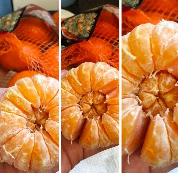 Мандарин в мандарине