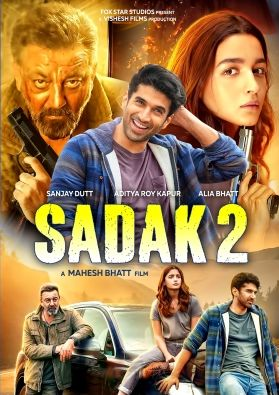 Sadak 2 (2020) Hindi HDRIp 1080p HEVC Esubs DL