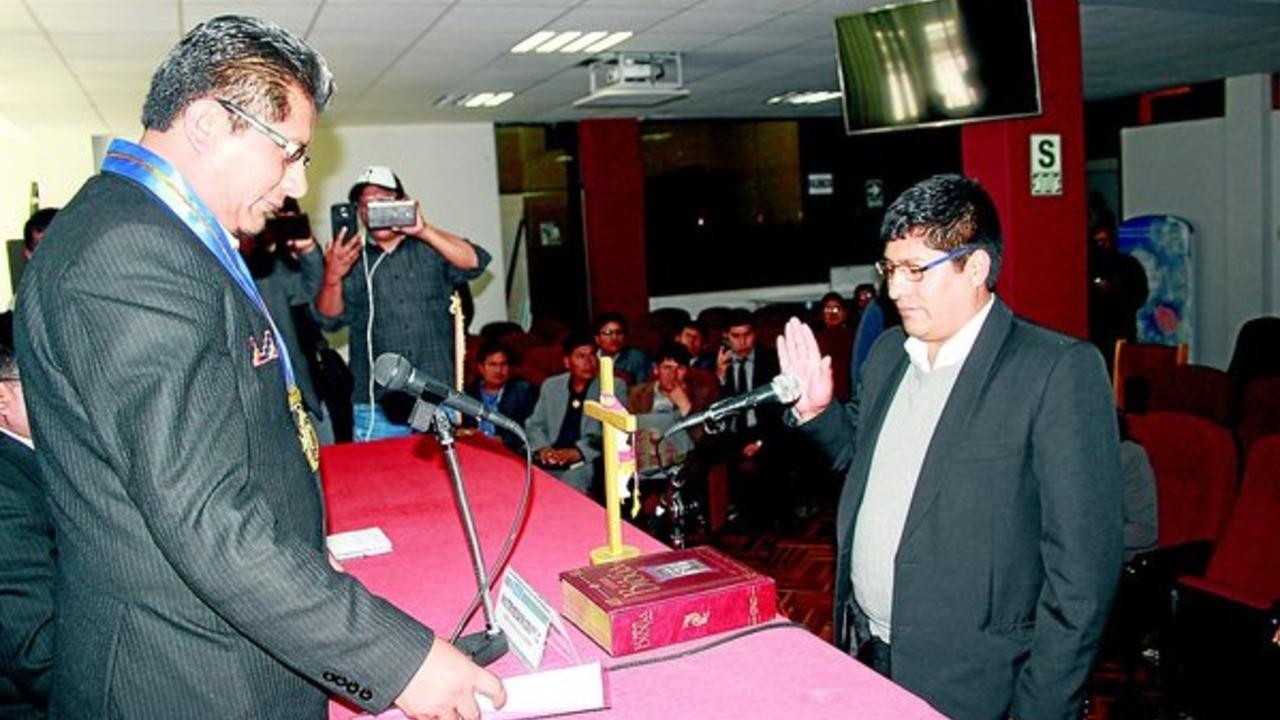 Nuevo gerente general del gobierno de Aduviri proveyó a alcalde corrupto