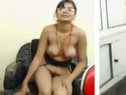 Cute Chashmish Girl Doing First Time StripChat