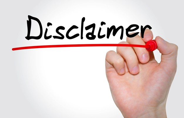Ebook disclaimer