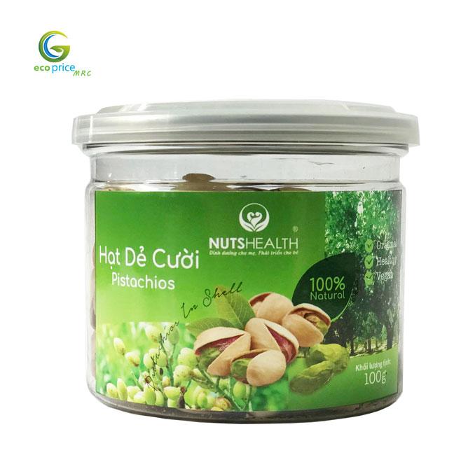 Hạt Dẻ Cười ( Pistachios ) – Hũ – 100g – Nutshealth