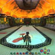 VR Spaceship GI