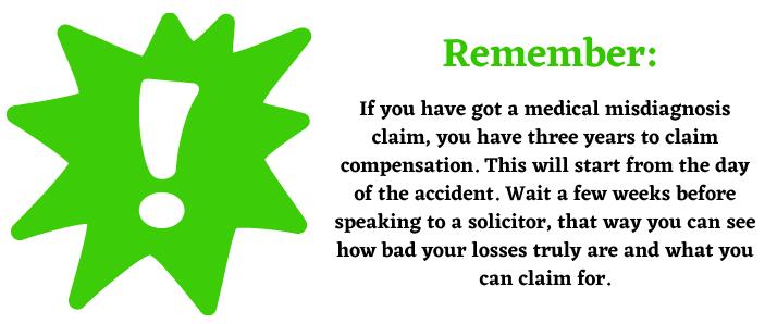 clinical negligence time claim help