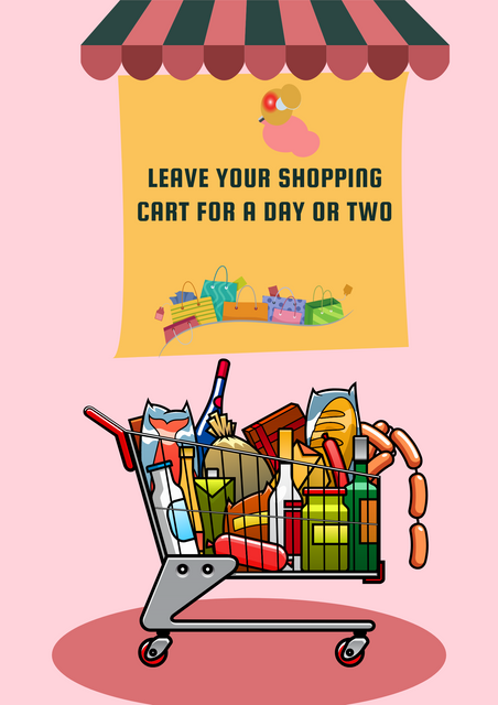Leave-Your-Shopping-Cart-for-a-Day-or-Two