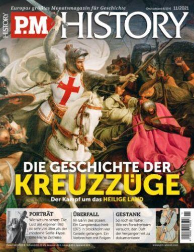 Cover: P M  History Magazin für Geschichte No 11 November 2021