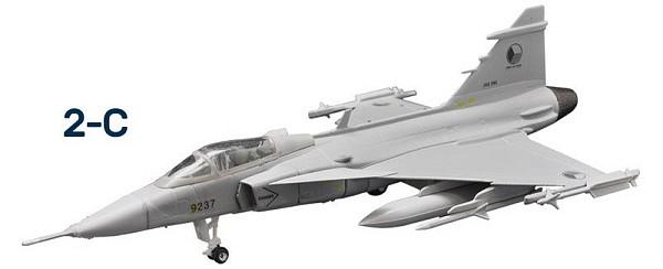 F-Toys Eurojets 2 (1/144)